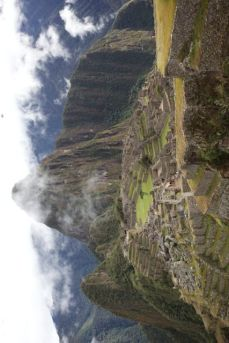 The Inca Face of Machu Picchu