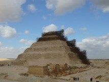 Step pyramid at Saqqara