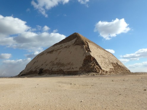 Bent Pyramid, Dahsur