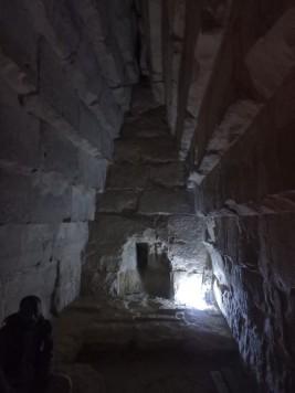 Interior of Meidum