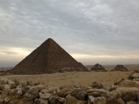 Gizeh, the smallest pyramid